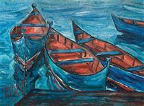 Four Boats - Naser Ramezani