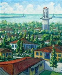 The Clock Tower & City - Naser Ramezani