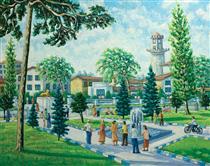 Anzali Boulevard in Day - Naser Ramezani