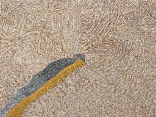 Mountain Devil Lizard Dreaming, 2008 - Kathleen Petyarre