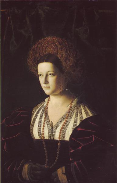 Portrait of a Noble Lady - Bartolomeo Veneto