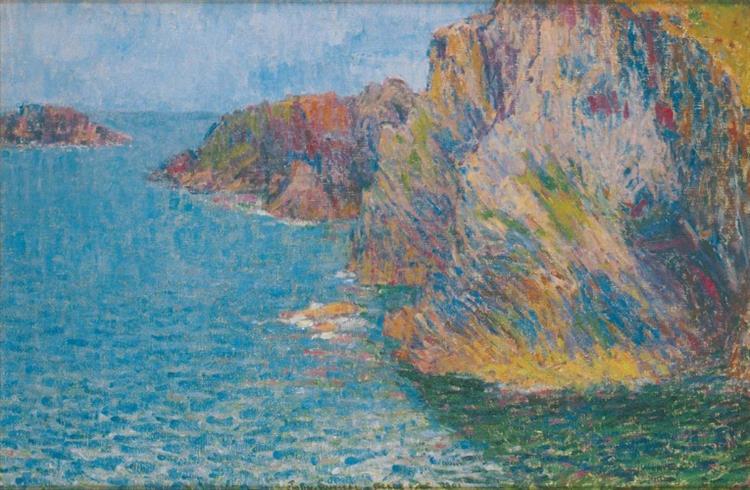 La Pointe de Morestil par mer calme, 1901 - Джон Пітер Рассел