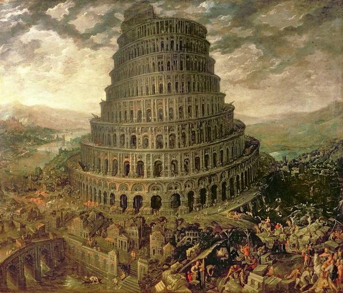 La Tour De Babel - Tobias Verhaecht
