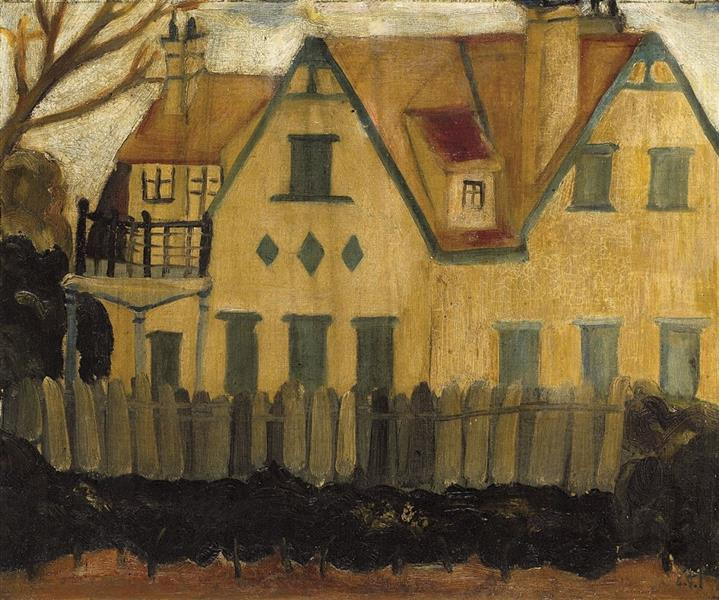 The Foreign-style House, 1928 - Guan Zilan