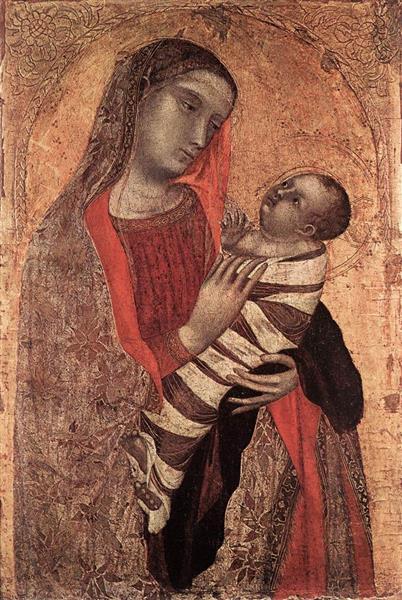 Madonna and Child - Ambrogio Lorenzetti