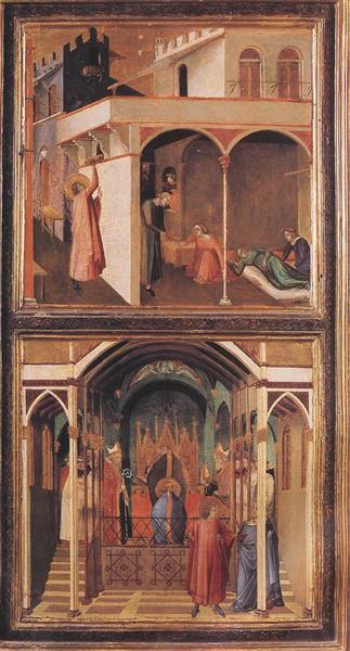 Scenes of the Life of St Nicholas - Ambrogio Lorenzetti