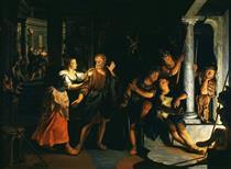 Denial of Saint Peter - Nikolaus Knüpfer