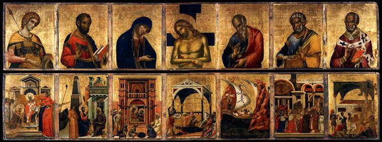 Pala Feriale, 1345 - Paolo Veneziano