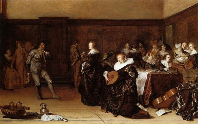 Musical Company, 1639 - Pieter Codde