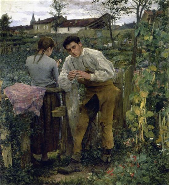 Rural Love, 1882 - Jules Bastien-Lepage