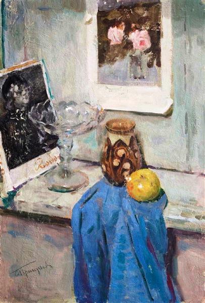 Still Life, 1948 - Sergiy Grigoriev