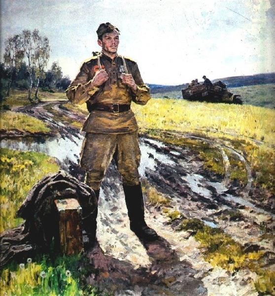 Peace Ahead, 1984 - Виктор Григорьевич Пузырьков