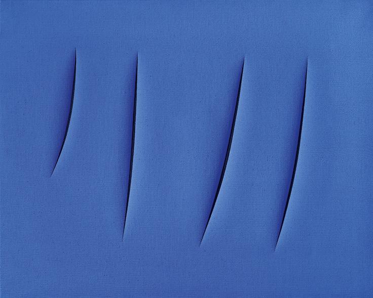 Concept Spatial, 1960 - Lucio Fontana