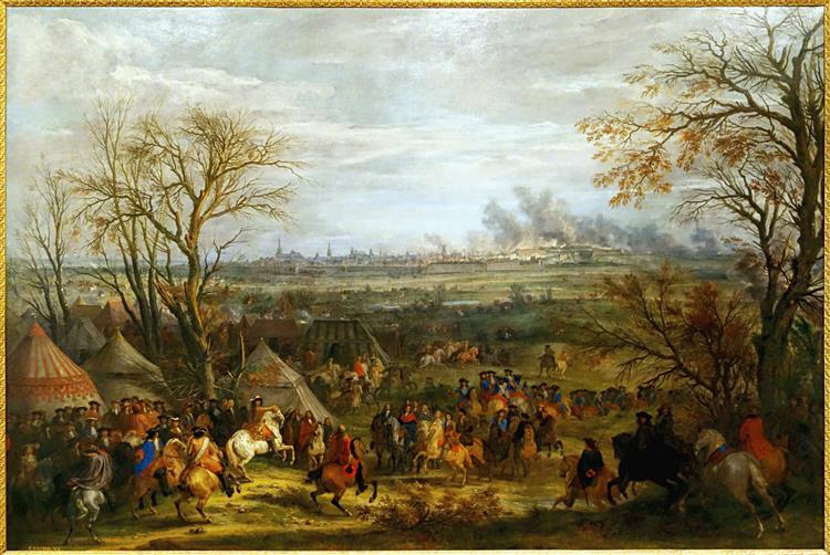 Prise De Cambrai Par Louis Xiv Le 5 Avril 1677, 1677 - Adam Frans van der Meulen