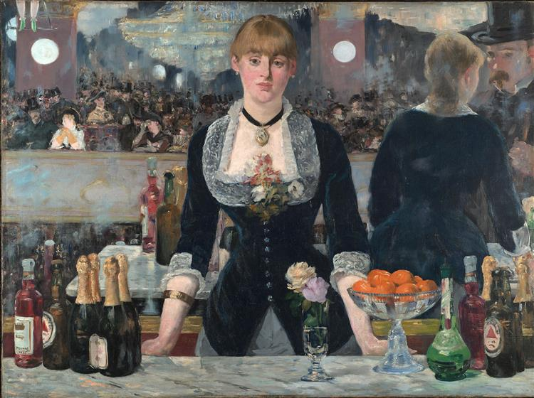 A Bar at the Folies-Bergere, 1882 - Edouard Manet