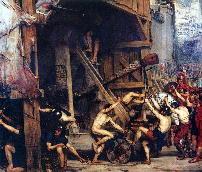 The Catapult - Edward Poynter