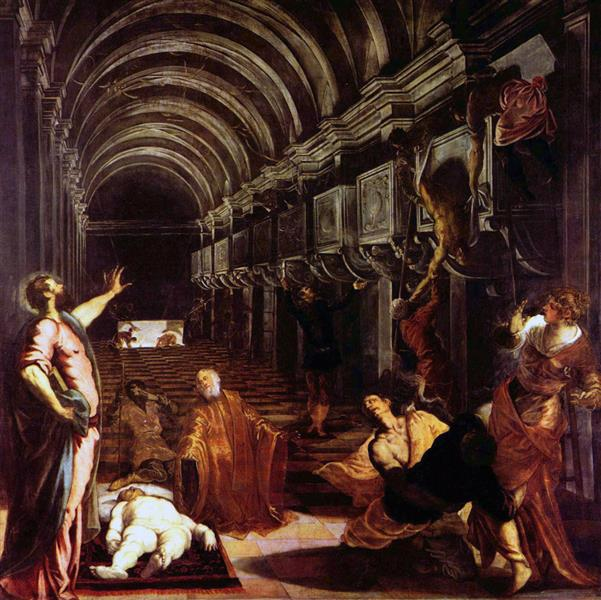 Finding of the body of St Mark - Tintoretto