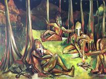 Dinner on the Grass - Eric Massholder