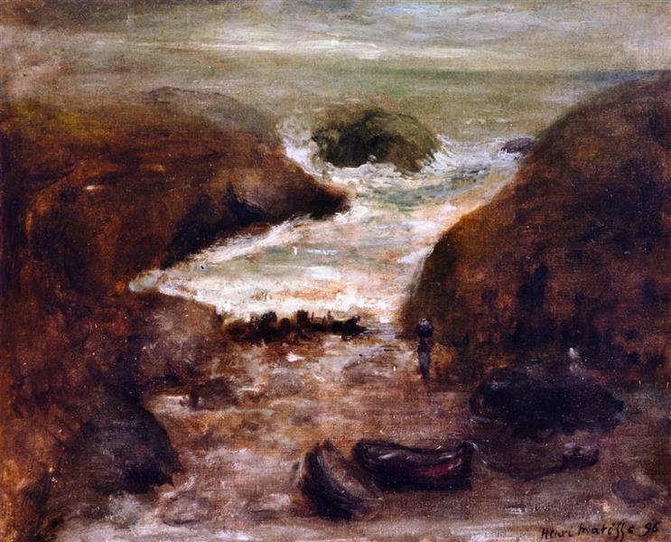 Belle Ile (II) - Henri Matisse