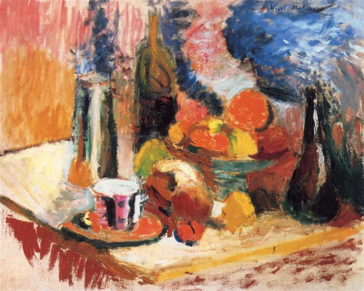 Still Life with Fruit - Henri Matisse