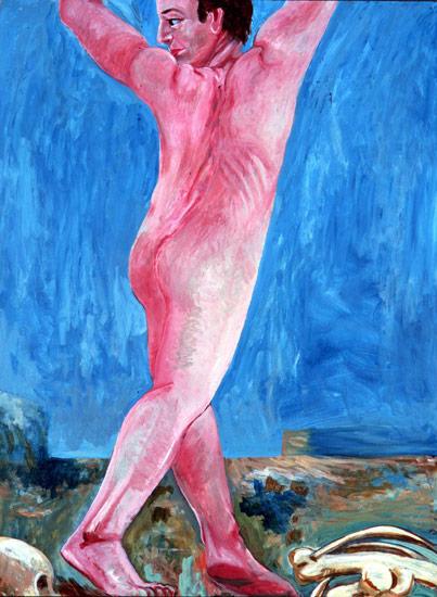 Prehistoric Figure, 1978 - 1980 - Charles Garabedian