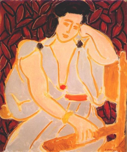 Monique in Gray Robe, 1942 - Henri Matisse