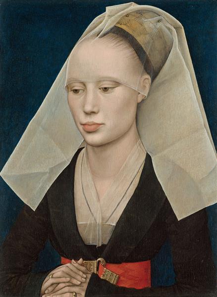 Retrato de uma Dama, 1460 - Rogier van der Weyden