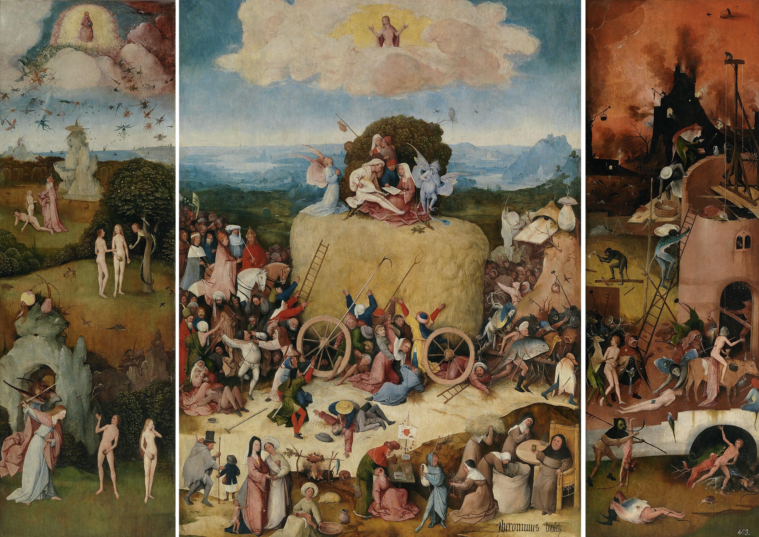 Envy, c.1556 - c.1560 - Pieter Bruegel the Elder - WikiArt.org
