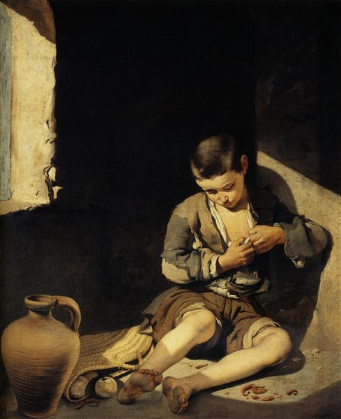 Joven mendigo, c.1650 - Bartolomé Esteban Murillo