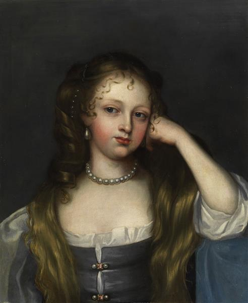 Portrait of the King's Mistress Nell Gwyn, 1697 - Mary Beale