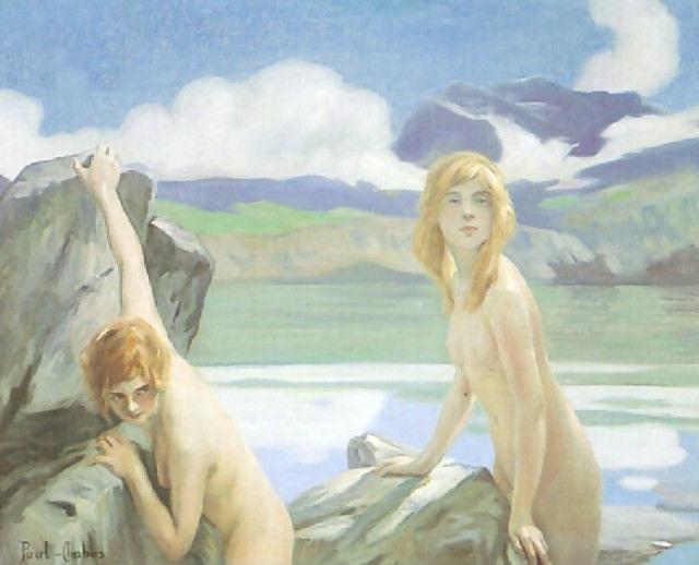 Two Bathers - Paul Émile Chabas