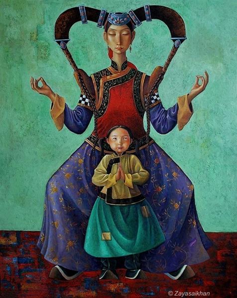 Mother and Child - Zaya