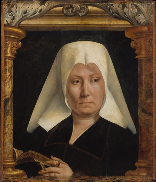 Portrait of a Woman, 1520 - Квентин Массейс