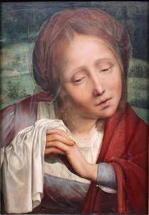 Penitent Magdalene - Quentin Massys