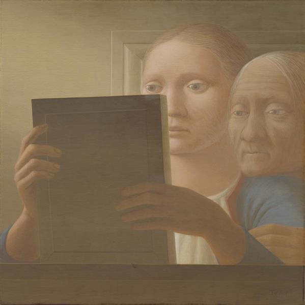 Mirror II, 1963 - George Tooker