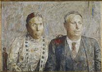 Sinforoso and Josefa - Antonio López García