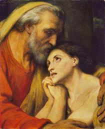 The Return of the Prodigal Son - Ary Scheffer