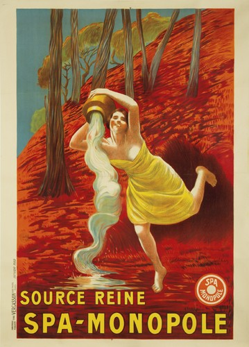 Source Reine Spa Monopole, 1922 - Leonetto Cappiello