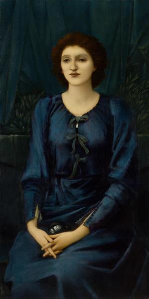Baronne Deslandes, 1895 - 1896 - Edward Burne-Jones