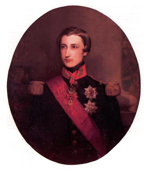 Leopold; Duke of Brabant - Gustaf Wappers