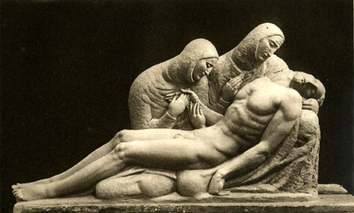 Pieta, 1932 - Ivan Mestrovic