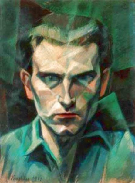 Self-Portrait, c.1911 - 1917 - János Kmetty