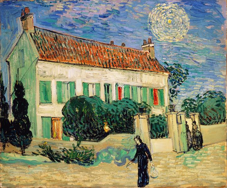 White House at Night, 1890 - Vincent van Gogh
