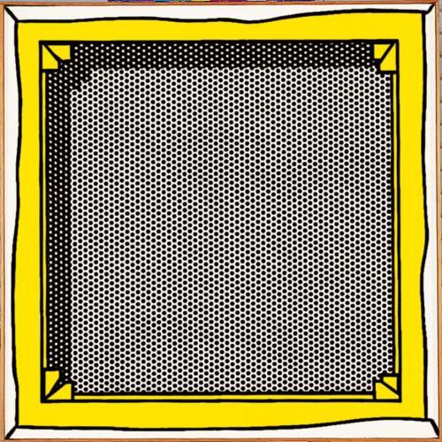 Stretcher Frame - Roy Lichtenstein