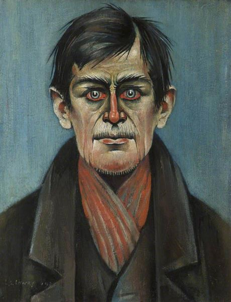 Head of a Man, 1938 - L. S. Lowry