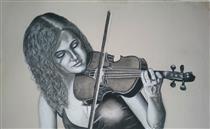 The violinist - Youssef Idrissi