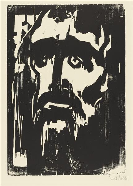 Prophet, 1912 - Emil Nolde