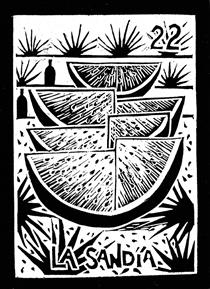 #22: La Sandía (Watermelon) - Marina Pallares