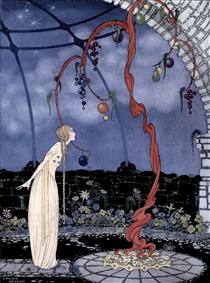 Rosalie saw before her eyes a tree of marvelous beauty - Virginia Frances Sterrett