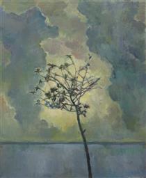 Wolken über Land 3 (Nature) - Daniel Sambo-Richter